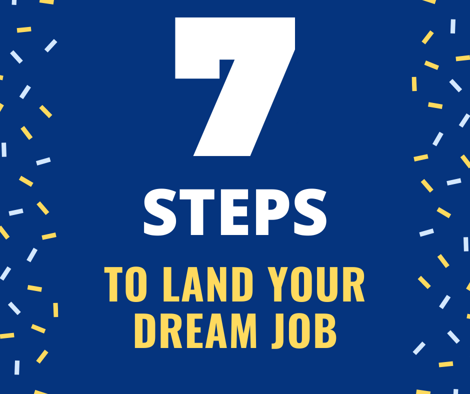 7 Steps to Land Your Dream Job